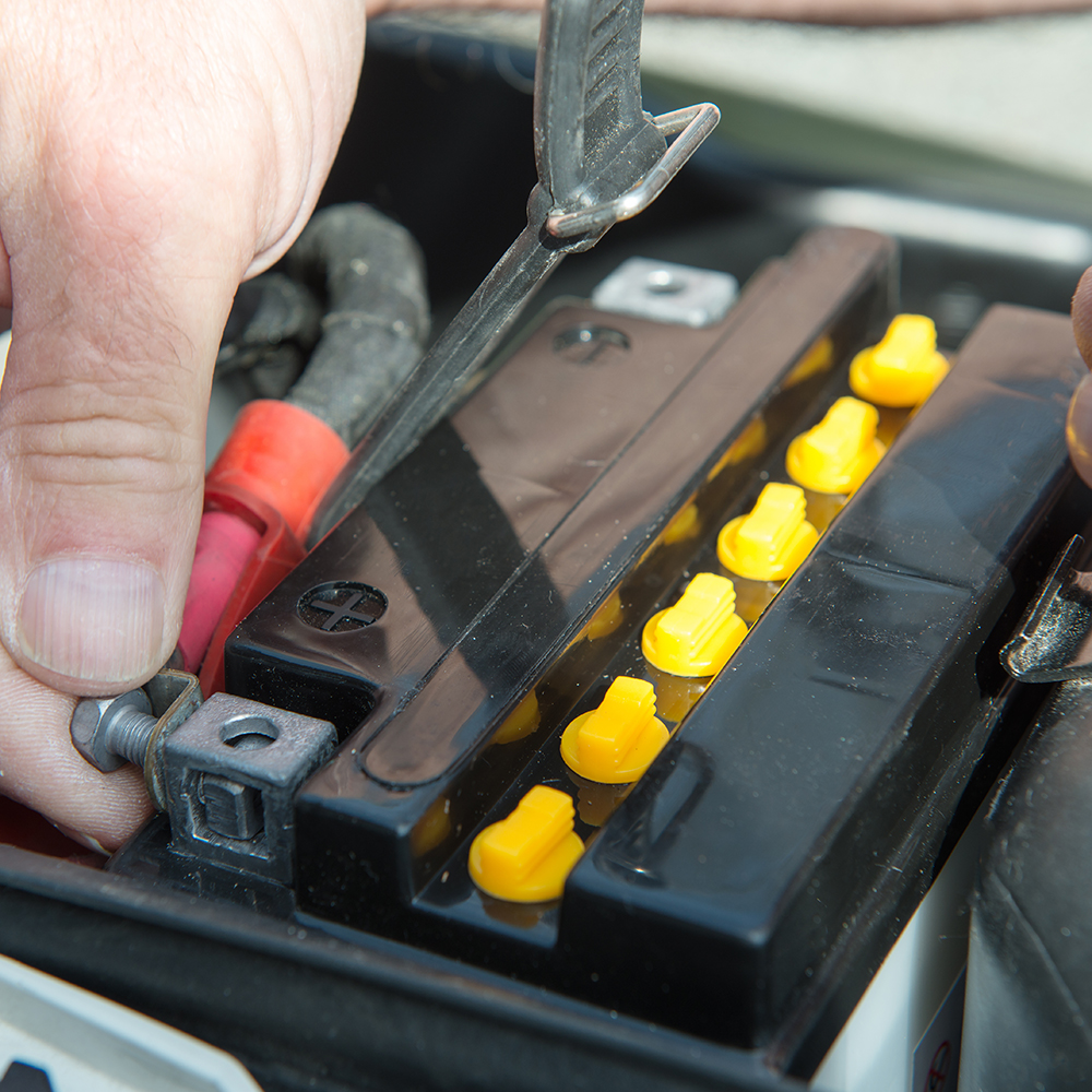 How to Charge a Motorcycle Battery for The First Time?